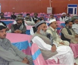 More than 85 wakeels attended the three-day training in Kandahar.