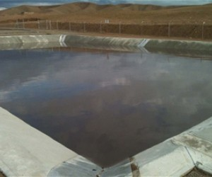 Tirin Kot's wastewater treatment plant will become the national standard