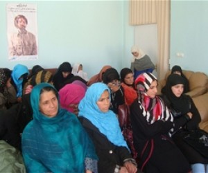 The workshop on women's rights in Islam in Baghdis province