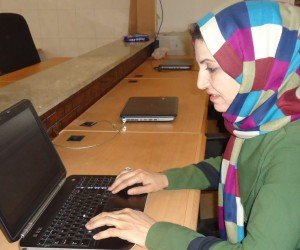 Hameda and women like her were denied computer literacy because of decades of war and six years of Taliban rule
