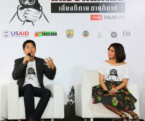 Thai celebrities help spread the word on the dangers of keeping wildlife animals as pets.