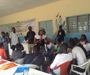Youth From Neighboring Villages in Abidjan Work to Promote Cohesion between Their Communities