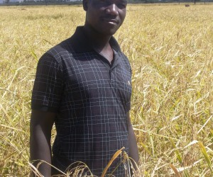 Leo Andres Pablo Julson is a rice farmer in one of FTF West's intervention areas.