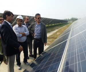Afghan officials visit 5 MW Delhi Solar Project