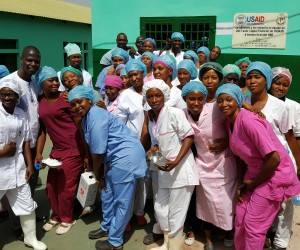 USAID rehabilitates Mamou Regional Hospital