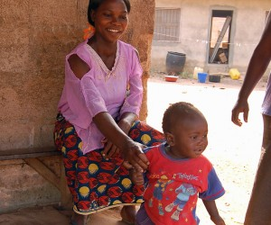 Mother and child in Nigeria