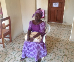 Sayon Mansaray, a social worker and former teacher in Koinadugu