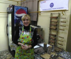USAID helps woman entrepreneur from north Mitrovica/ë start her own business