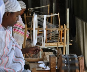 Traditional weaving targeting the export market