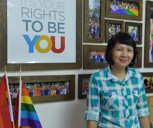 Ly hopes to help parents of LGBT people work together for equal rights.