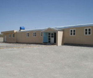 AFTER: Through USAID, the clinic received a major refurbishment and a newly constructed wing.