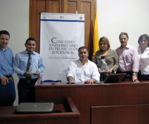 USAID and DOJ transform the Colombian judicial process with the Oral Trial Skills Competition for law students