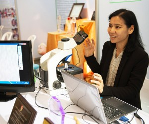 Innovation for Elimination: Thai Scientist Invents Affordable Microscope to help Beat Back Malaria