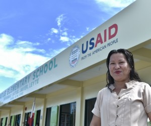 Once Flood-Prone Filipino Schools Now Stand Strong