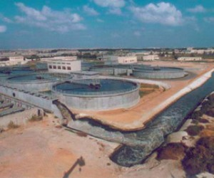 Reliable and sustainable wastewater services provided by the New East Wastewater Plant in Somoha, Alexandria.
