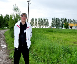 Bolat Alipov, owner of the Alipov-T farm near Almaty, in southern Kazakhstan, enjoys the higher yields from his farm.