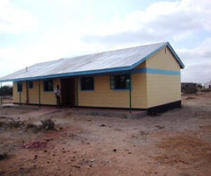 Diff Maternity Ward -- built by the community of Diff brought together cross-border clans along the Kenya/Somalia border.
