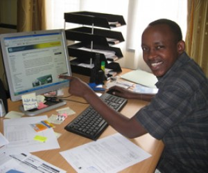 Eugene Kwibuka, 25, was given the chance to explore the relations between Rwanda and the DRC.