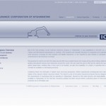 The Insurance Company of Afghanistan's web portal, www.icaaf.com.