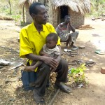 The health of this family in South Sudan improved after receiving care through a USAID primary health care project.