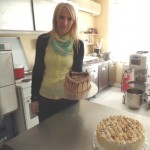 Biljana Vicentijevic owns and operates a thriving pastry shop in North Mitrovica.