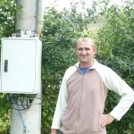 Ilja Andric in Brcko, Bosnia and Herzegovina says thanks to the US, his village enjoys safe, reliable electricity.