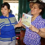 Women at Xeo Quao village in Thuan Hoa commune, Vietnam explain their understanding of the impacts of climate change.