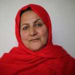 Najeba Karimi, an Afghan woman, takes a leadership role in the Ministry of Agriculture, Irrigation, and Livestock.