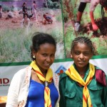 Hiwot Zewdu (left) and Tewobesta Tewoflos