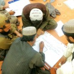 Members of the District Development Assembly during training in Kandahar