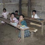 BEFORE: Few Guatemalan children are enrolled in preschool (43 percent), junior high (28 percent) or high school (16 percent)