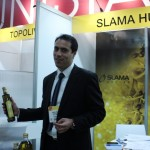 Akram Tray, marketing and sales manager of Slama Huiles a Tunis-based olive oil producer: