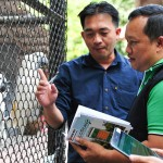 Wildlife law enforcement officers learn how to use WildScan in Chonburi, Thailand.