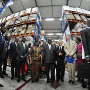USAID and the Global Fund's new modern warehouse for medicines and commodities