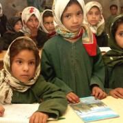 School girls in Sana'a.