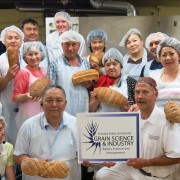 Kazakhstani food processing entrepreneurs visited Kansas State University to improve bakery techniques.