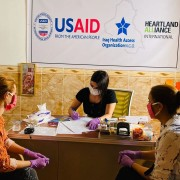 USAID-funded case management support to survivors in Sinjar Iraq