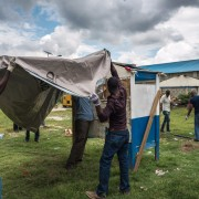 In disasters, plastic sheeting = life-saving shelter.
