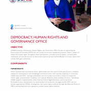 Democracy, Human Rights, and Governance (DRG) Office Fact Sheet