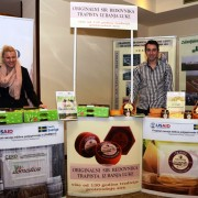 USAID-Sweden FARMA II Project beneficiaries who grow apples and produce award-winning cheese.