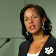 President Obama's National Security Adviser Susan Rice gave the keynote address at the USAID-sponsored SLAB event