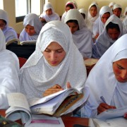 More than 500 girls from Rerra and neighboring villages study at a USAIDsponsored school in Pakistan.