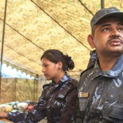 Deputy Superintendent of Police Samir Chandra Kharel and his team quickly mobilized when the earthquake hit Nepal.