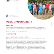 Public Opinion Activity (POA) Fact Sheet