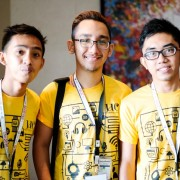 Students from the University of Cebu attend a USAID-supported workshop and symposium for budding technopreneurs.