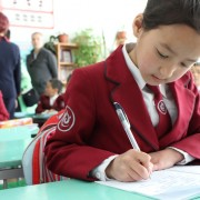 The project covers nearly 265,000 primary school students
