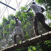 Kakum National Park rope walk