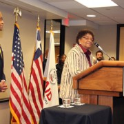 The program was announced today while Liberian President Ellen Johnson Sirleaf visited with staff from USAID.