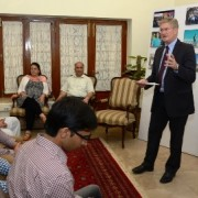 U.S. Consul General Welcomes Home Pakistani Students from Semester in America