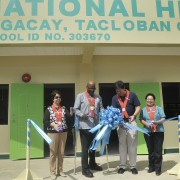 U.S. Official Inaugurates New School and Livelihood Facility in Tacloban City